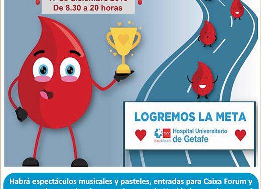 XIX Maratón de Donación de Sangre del Hospital Universitario de Getafe