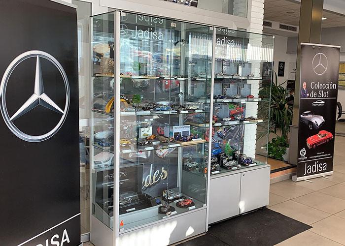 Más de 650 figuras de Slot: Una afición por los coches desde que tiene memoria