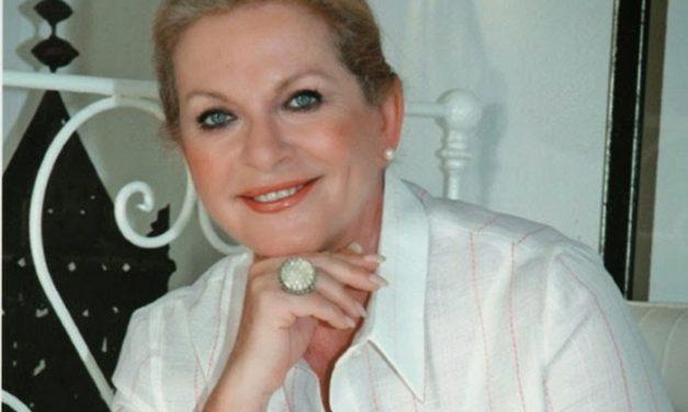 La actriz Concha Cuetos, artista invitada en el Concierto de Navidad de Moralzarzal
