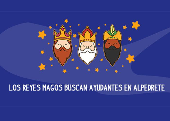 Los Reyes Magos buscan ayudantes en Alpedrete