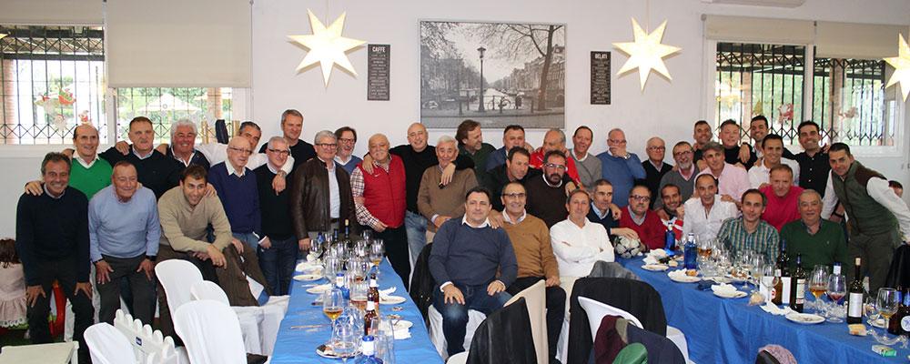 Reunión navideña de los Veteranos del Real Jaén