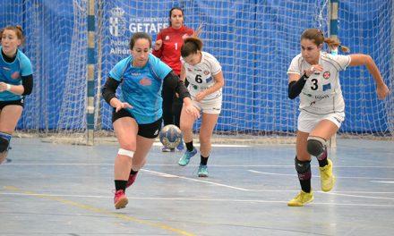Getasur vuelve a sumar con su victoria ante Ikersa Urci Almería (19-18)