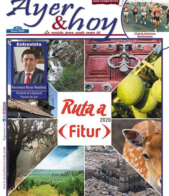 Ayer & hoy – Jaén – Campo de Oro  – Revista enero 2020
