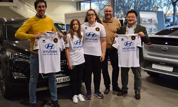 Hyundai Hijos de Dionisio Grande patrocina al Ciudad Real C.F. femenino