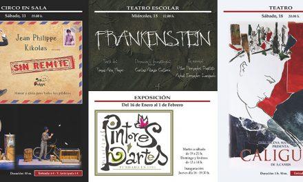 Circo en sala, teatro y arte para enero en el Gran Teatro de Manzanares