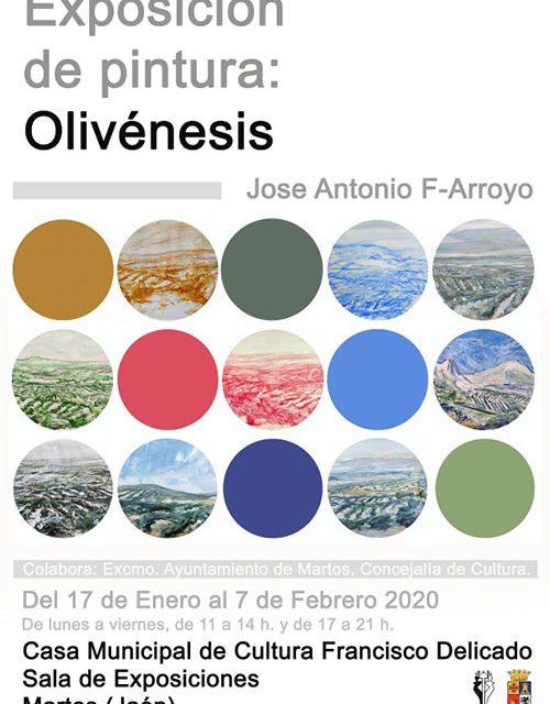 Olivénesis, exposición de pintura sobre olivos en Martos