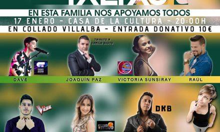 """La Casa de Cultura de Collado Villalba acoge mañana viernes el concierto solidario """"Todos por Txetxu"""""""