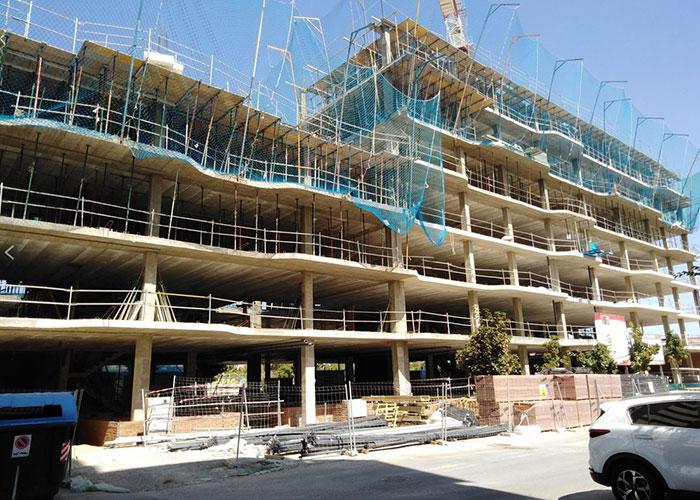 Comienzan las obras tras la nueva adjudicación de las 147 viviendas de El Rosón