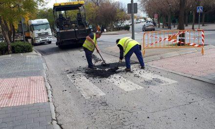El Ayuntamiento de Jaén acomete la semana que viene arreglos en el firme del Paseo de la Estación y el entorno del Museo Íbero