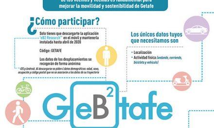 Una aplicación para que los vecinos puedan ayudar a mejorar la movilidad de Getafe