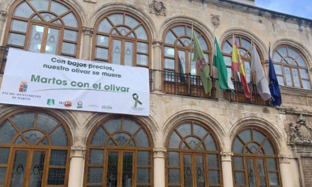 El Ayuntamiento de Martos hace un llamamiento para secundar la concentración del lunes 24 de febrero en defensa del olivar