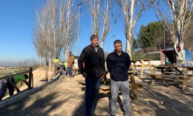 Inversión de 21.000 euros para arreglar la zona verde de las pistas de Santa Bárbara