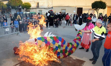Argamasilla de Alba despidió el Carnaval 2020 con el entierro de la sardina