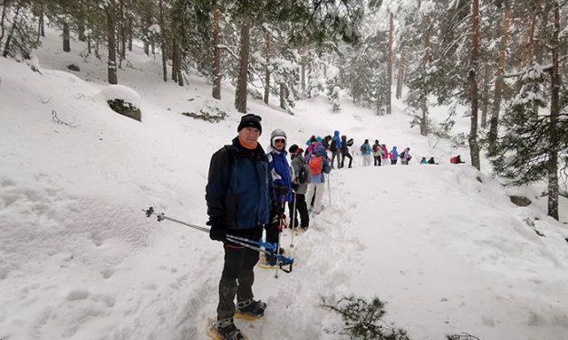 Boadillaventura hace su primera incursión de 2020 en Navacerrada
