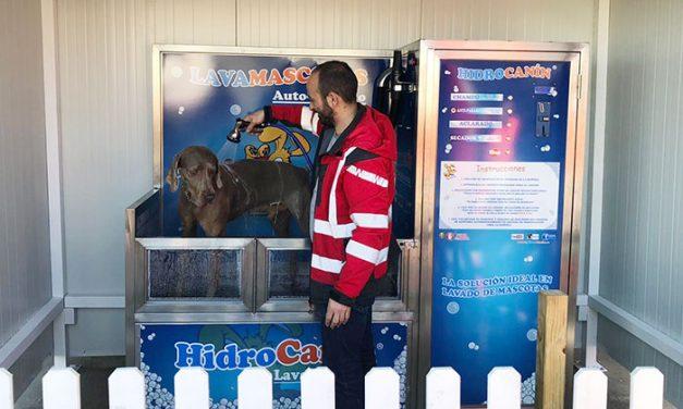 Ciudad Real ya dispone de autoservicio de lavamascotas en la EE.SS. Puente del Ave