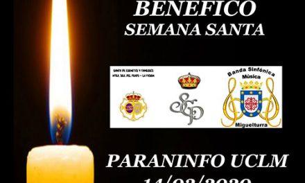 Concierto benéfico de Semana Santa el próximo 14 de marzo en el Paraninfo UCLMde Ciudad Real Luis Arroyo