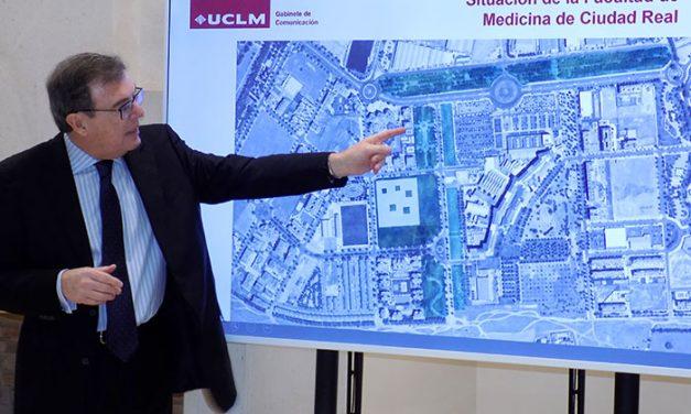 """La UCLM presenta el diseño de una Facultad de Medicina """"abierta a la ciudad"""" y con un inicio de obras previsto para finales de 2020"""