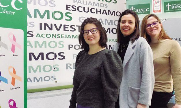 Carmen, Raquel y Sonia, tres jóvenes investigadoras becadas por la AECC Ciudad Real