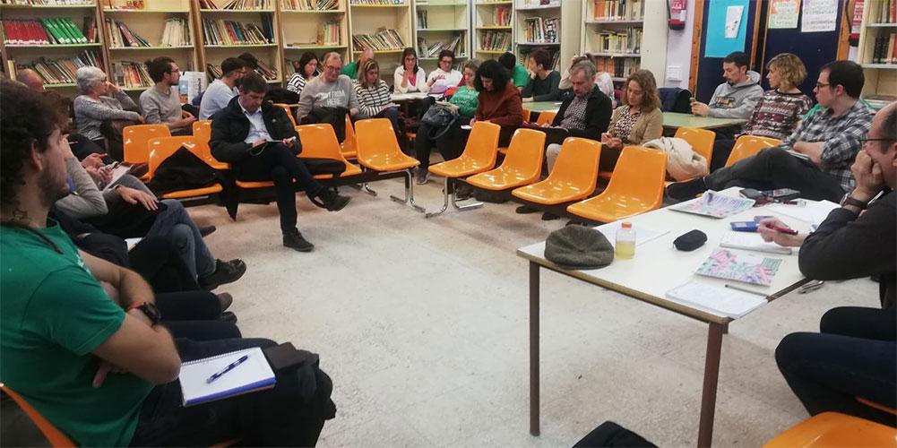 La Zona Sur de Madrid se une en defensa de la escuela pública