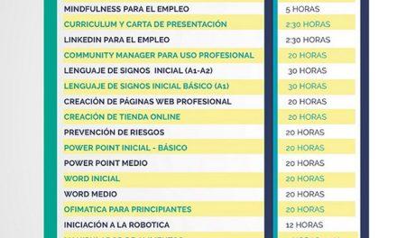 El Ayuntamiento de Collado Villalba oferta 20 nuevos talleres gratuitos de formación para el empleo