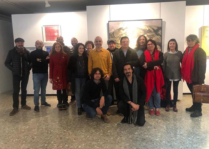"""El Gobierno local destaca en la inauguración de """"Arte y Oficio"""" el papel de la Escuela de Arte en la promoción cultural de Toledo"""