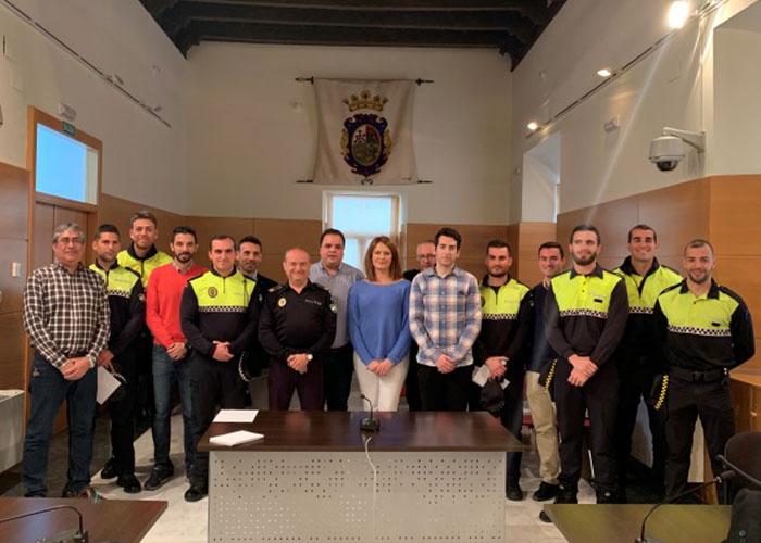 Un total de 14 efectivos de la Policía Local se incorpora a la plantilla desde noviembre