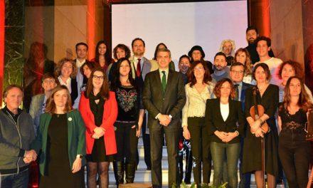 El Gobierno local, en la presentación de la tercera edición del Festival Únicas organizado por la Diputación en torno al 8-M