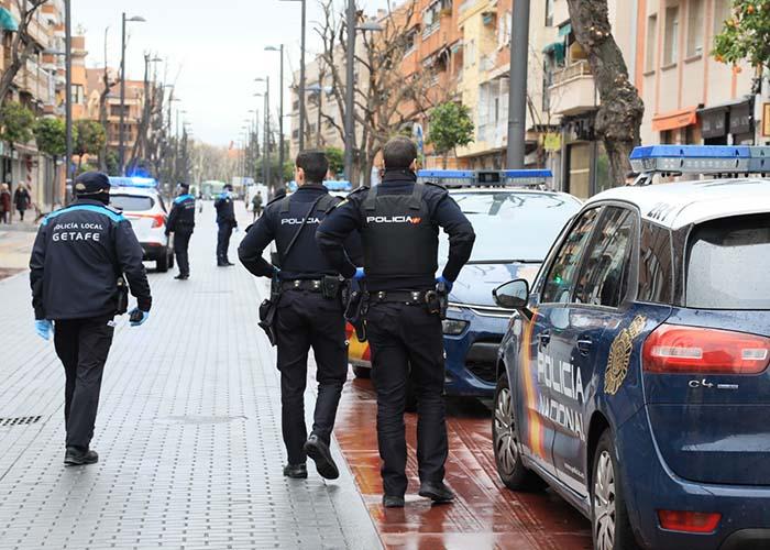 La Policía Local de Getafe ha puesto 307 sanciones en la primera semana del Estado de Alarma