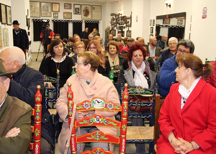 La Peña Flamenca de Alcázar celebró su 32 aniversario con la actuación del cantaor Ezequiel Benítez