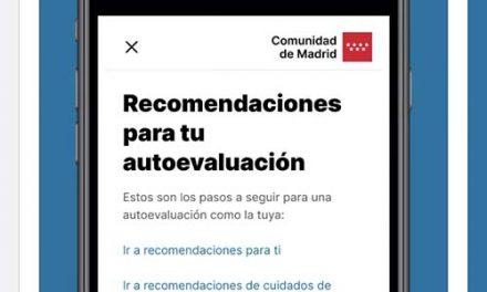 La Comunidad de Madrid lanza la nueva 'App' del coronavirus para la auto-evaluación de los ciudadanos