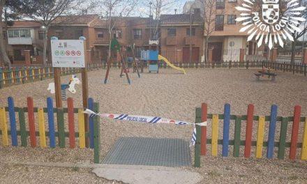 Alerta coronavirus: cierres de parques y zonas deportivas de Pinto