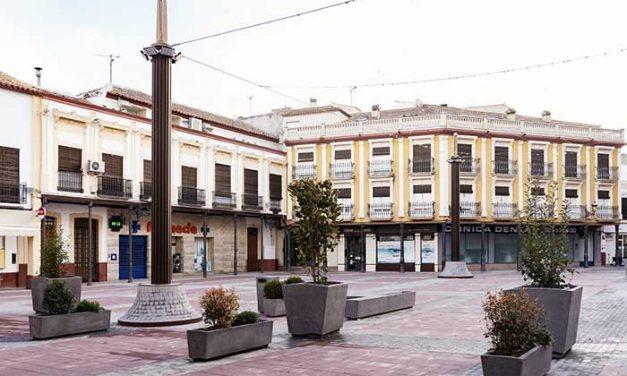 Herencia pone en marcha un servicio especial de desinfección de calles y espacios públicos