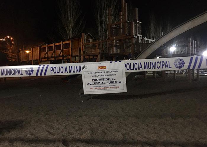 El Ayuntamiento de Pozuelo de Alarcón clausura sus parques