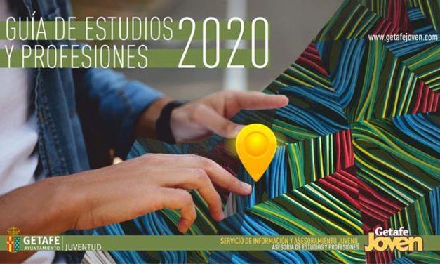 El Ayuntamiento de Getafe edita la Guía de Estudios y Profesiones Getafe 2020