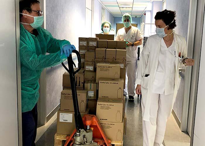 Los hospitales de la provincia de Ciudad Real reciben más de 641.000 artículos de protección del tercer envío realizado por la Junta