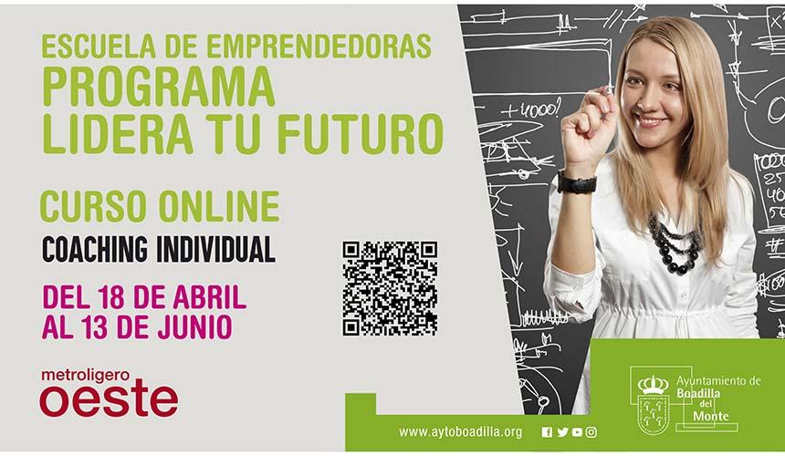 """El programa para emprendedoras """"Lidera tu futuro"""" se impartirá online"""