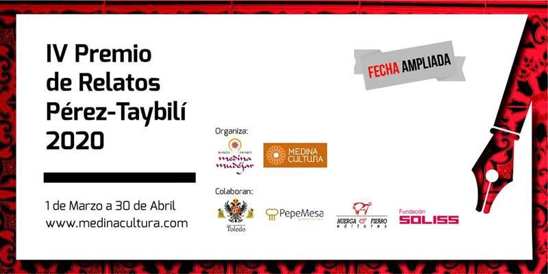 El Ayuntamiento colabora con el IV Premio Pérez-Taybilí de Relato que amplía hasta el 30 de abril el envío de trabajos a concurso