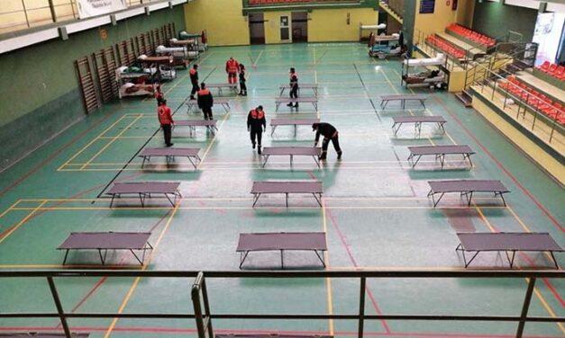 El Ayuntamiento de Jaén cierra provisionalmente la ampliación del centro de transeúntes en el pabellón deportivo de La Salobreja al reducirse el número de usuarios
