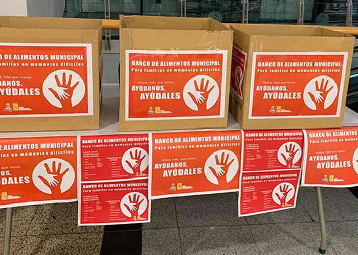 Banco de Alimentos Municipal: Pinto combate la emergencia social