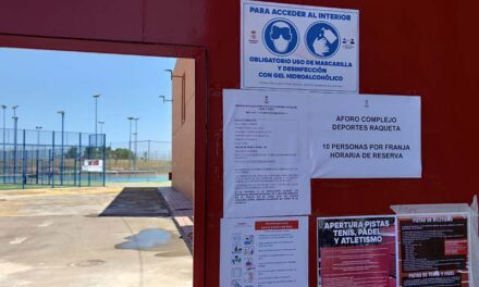 Deportes entra en la fase 1 con la reapertura de las pistas de atletismo, tenis y pádel
