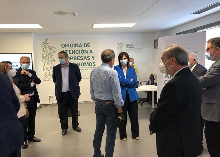 Inaugurada la nueva Oficina de Atención a la Empresas y Autónomos afectados por la crisis del Covid-19 en Pozuelo