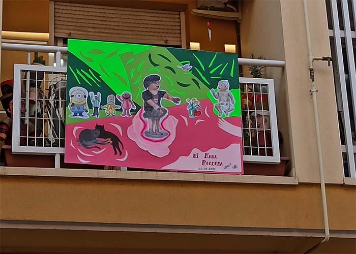 'Balcoarte' saca el arte a la calle