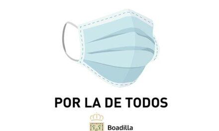 El Ayuntamiento de Boadilla reparte 40.000 mascarillas más entre los vecinos