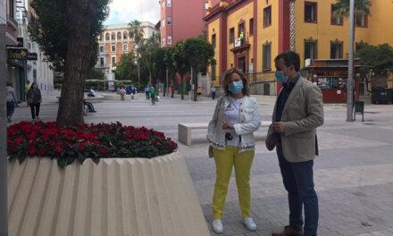 El Ayuntamiento de Jaén refuerza las labores de embellecimiento y adecuación de espacios verdes
