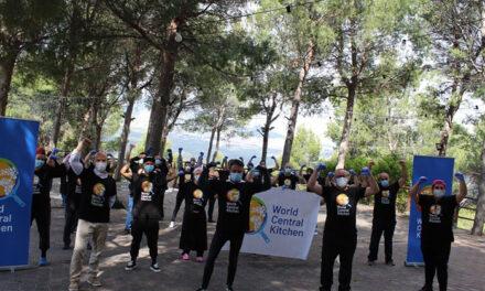 El Ayuntamiento de Jaén agradece la colaboración de World Central Kitchen para hacer frente a la crisis del coronavirus con la elaboración de 28.000 menús desde el pasado 18 de abril