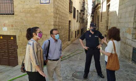 La Policía Local de Jaén incrementará su presencia en La Merced y elaborará un registro de viviendas que hayan sido ocupadas