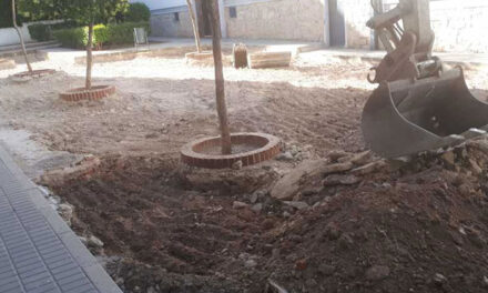 El Ayuntamiento de Jaén acomete el arreglo de la plaza Luis Braille