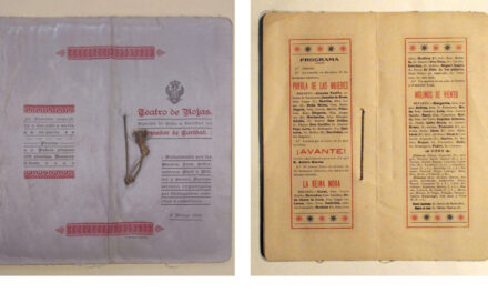 Restauración de impresos en tela, contribución del Archivo Municipal al Día Internacional de los Archivos