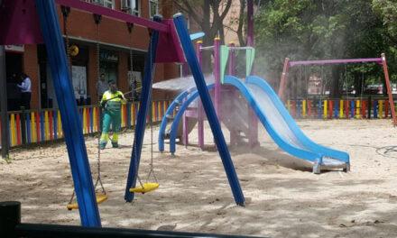 El próximo lunes se abren las áreas infantiles de Getafe