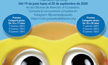 El Ayuntamiento de Pozuelo de Alarcón convoca una nueva edición del Certamen Cre@ Joven Pozuelo 2020 para fomentar el talento artístico, cultural y creativo